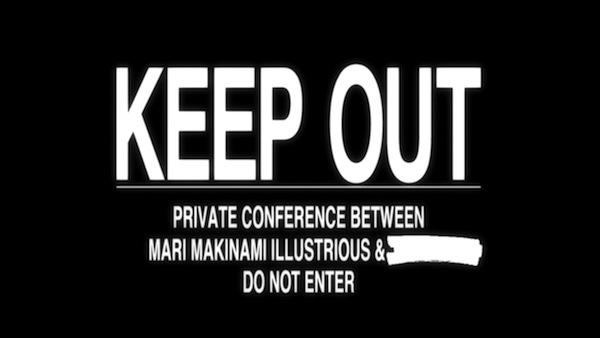 """[Preview em 2.0] """"Conferência privada entre Mari Makinami Illustrious e"""" ..."""