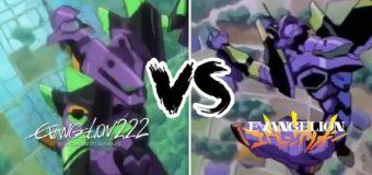 Comparação Luta Sahaquiel – Eva TV X Rebuild